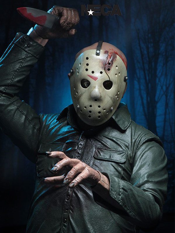 Neca Friday the 13th The Final Chapter Jason Voorhees 1:4 Figure