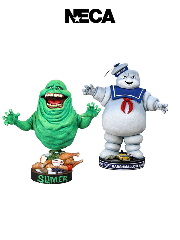 Neca Ghostbusters Slimer/StayPuft HeadKnocker Bobble-Head 18 Cm