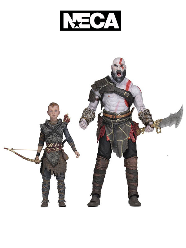 Neca God Of War Kratos & Atreus Ultimate Figures Pack