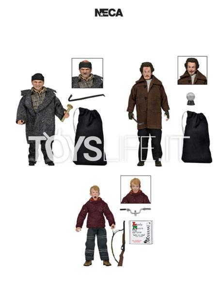 Neca Home Alone Kevin/ Marv/ Harry Figure Set