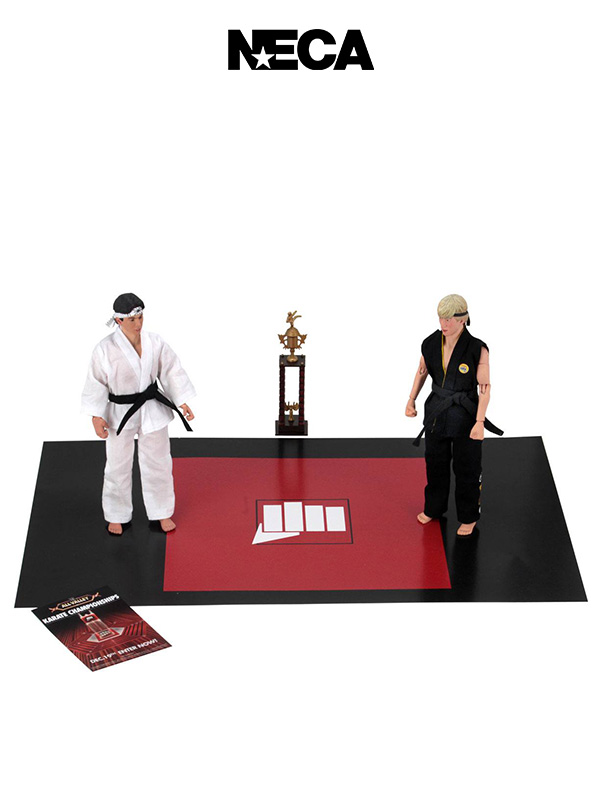 Neca Karate Kid Larusso Vs Lawrence Action Figure Pack Tournament Set