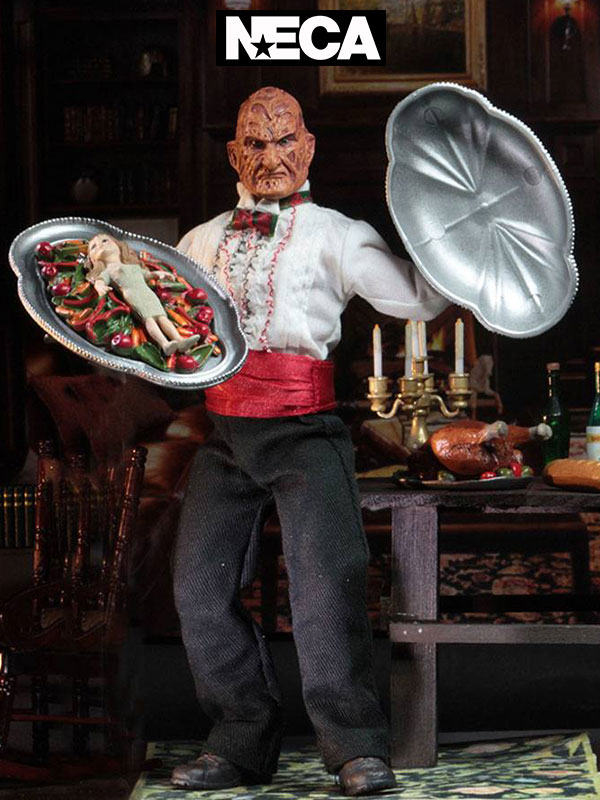 Neca A Nightmare on Elm Street 5 Chef Freddy Retro Action Figure 20 cm