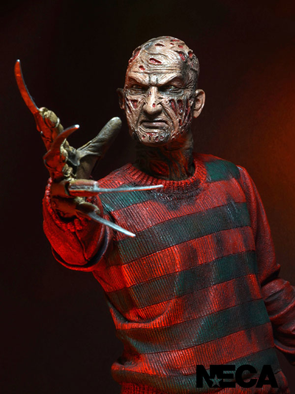 Neca Nightmare On Elm Street Freddy Krueger 30th Anniversary Figure