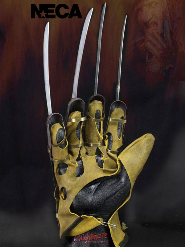 Neca Nightmare On Elm Street 1984 Freddy's Glove 1:1 Lifesize Replica