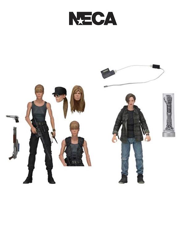 Neca Terminator 2 Judgement Day Sarah and John Connor 2-Pack Figure