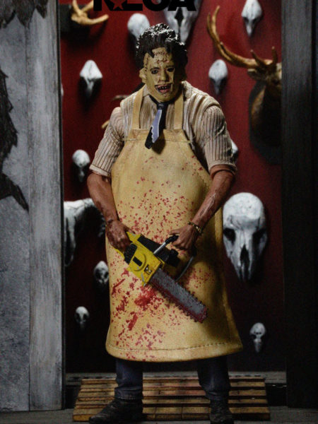 Neca Texas Chainsaw Massacre 40th Anniversary Ultimate Leatherface Retro Figure