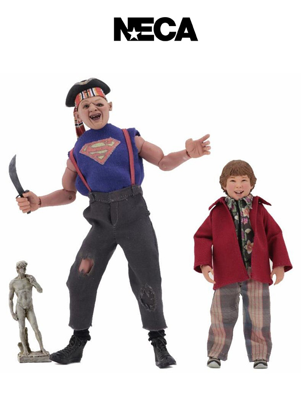 Neca The Goonies Sloth and Chunk Clothed Figures Pack