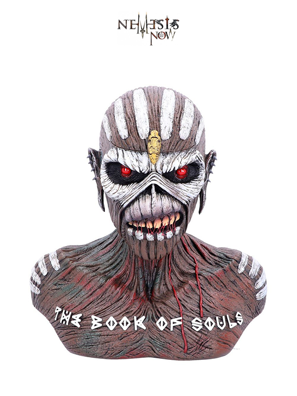 Nemesis Now Iron Maiden The Book of Souls Eddie Storage Box