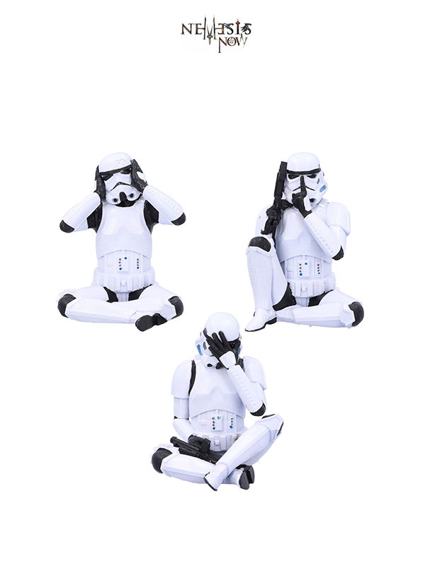 Nemesis Now Star Wars Stormtrooper See No Evil/ Speak No Evil/ Hear No Evil