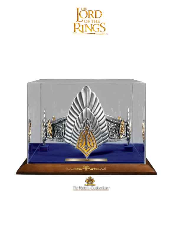 Noble Collection Lord of the Rings Replica The King Elessar Crown