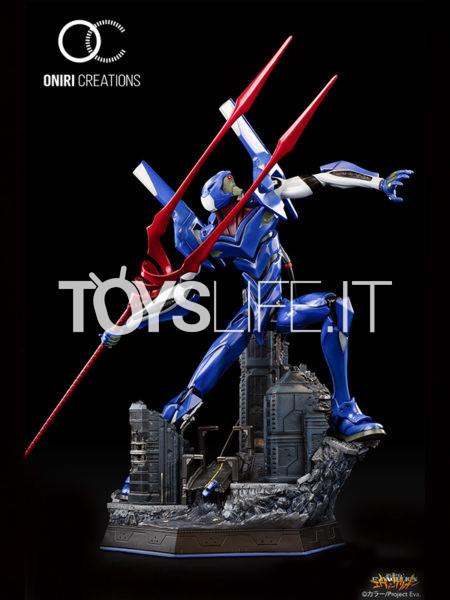 Oniri Creations Neon Genesis Evangelion Eva-00 Thorugh Outer Space Statue