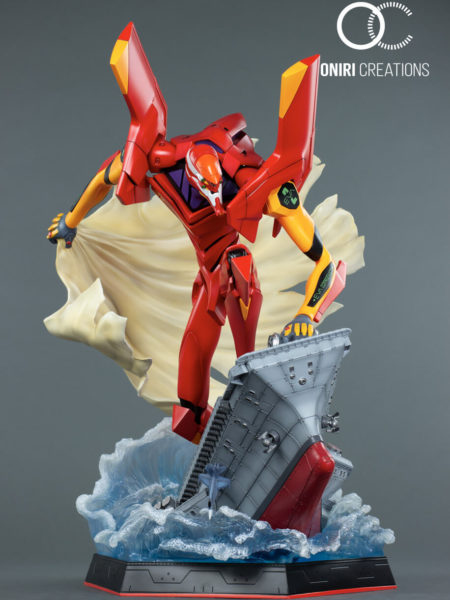 Oniri Creations Neon Genesis Evangelion Eva-02 Statue