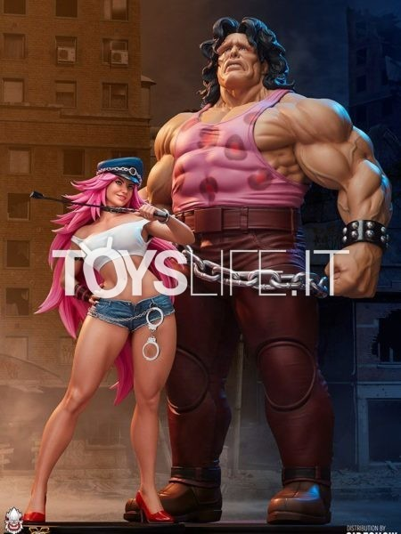 PCS Street Fighter Hugo & Poison Mad Gear Exclusive 1:4 Set