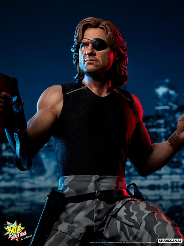 Pop Culture Shock 1997 Escape From New York Jena Plissken 1:3 Statue