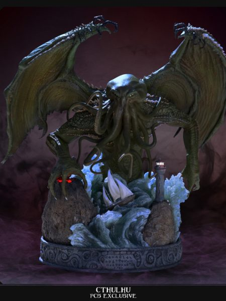 Pop Culture Shock HP Lovecraft Cthulhu Exclusive Statue