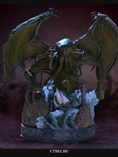 Pop Culture Shock HP Lovecraft Cthulhu Statue