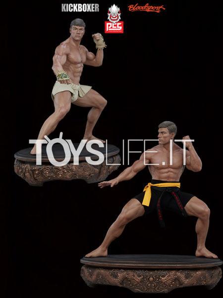 Pop Culture Shock Bloodsport/ Kickboxer Jean Claude Van Damme Shotokan/ Muay Thai 1:3 Statue