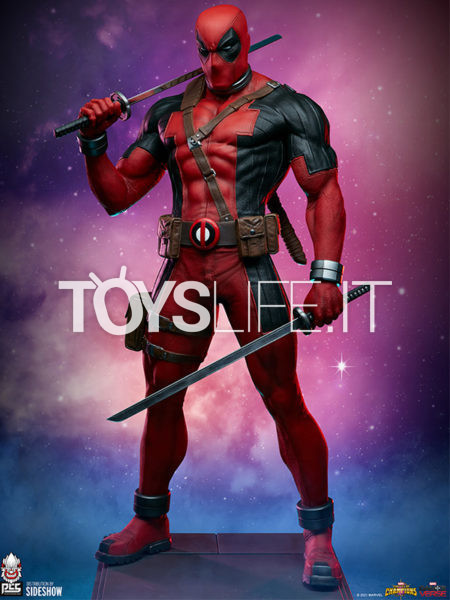 Pop Culture Shock Marvel Contest Of The Champions Deadpool 1:3 Statue