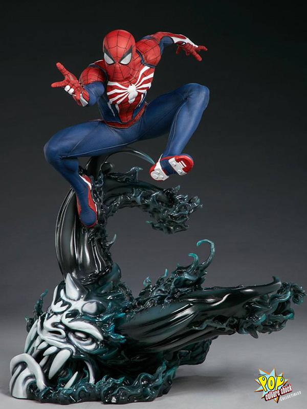 Pop Culture Shock Marvel Spiderman Spiderman Advanced Suit 1:3 Statue