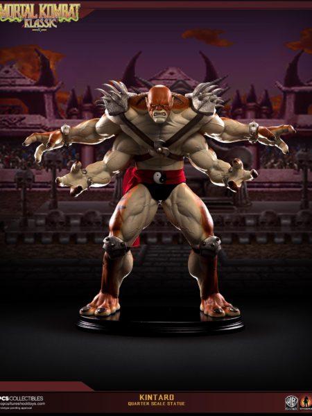 Pop Cultiure Shock Mortal Kombat Kintaro 1:4 Statue