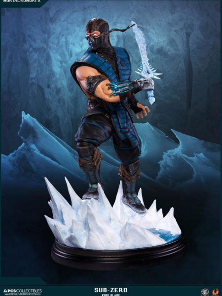 Pop Culture Shock Mortal Kombat X Sub-Zero Kori Blade Exclusive 1:4 Statue