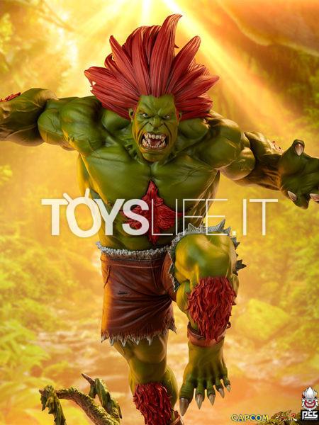 Pop Culture Shock Street Fighter Blanka Ultra 1:4 Statue