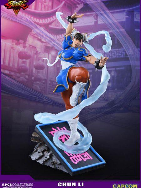 Pop Culture Shock Street Fighter Chun-Li V-Trigger 1:6 Statue