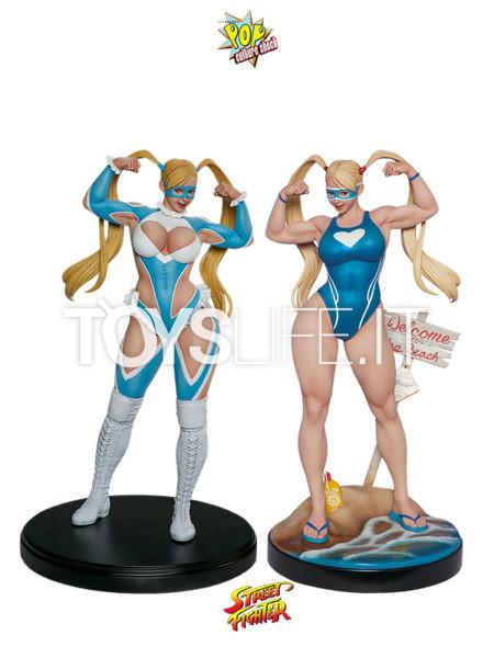 Pop Culture Shock Street Fighter V R. Mika Normal/ Season Pass 1:4 Statue