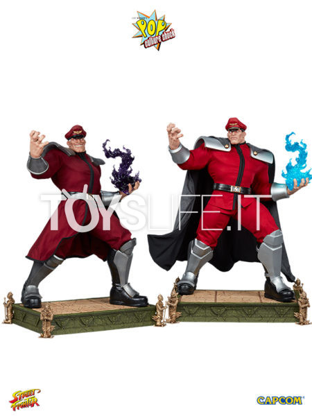 Pop Culture Shock Street Fighter V Mr. Bison Alpha/ Normal 1:3 Statue