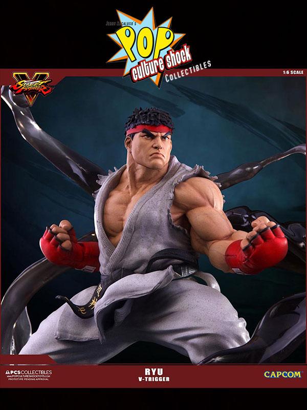 Pop culture Shock Street Fighter Ryu V-Trigger 1:6 Statue