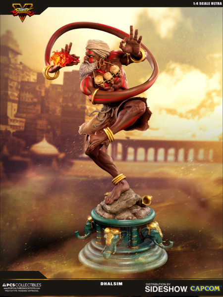 Pop Culture Shock Street Fighter V Dhalsim 1:4 Statue