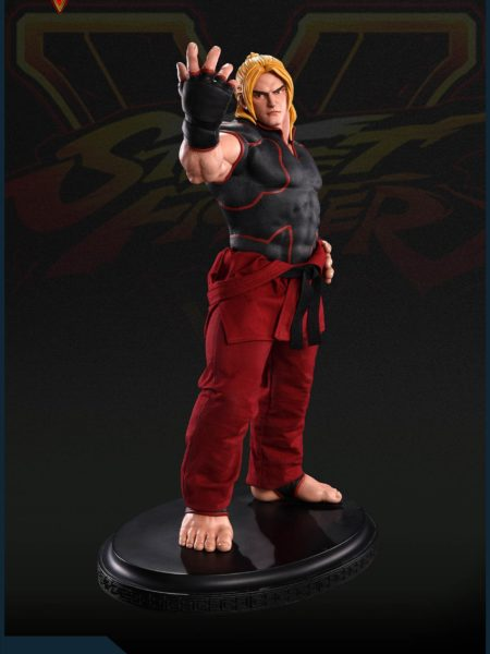 Pop Culture Shock Street Fighter V Ken Masters 1:4 Statue