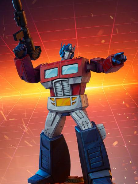 Pop Culture Shock Transformers Optimus Prime G1 Museum Statue