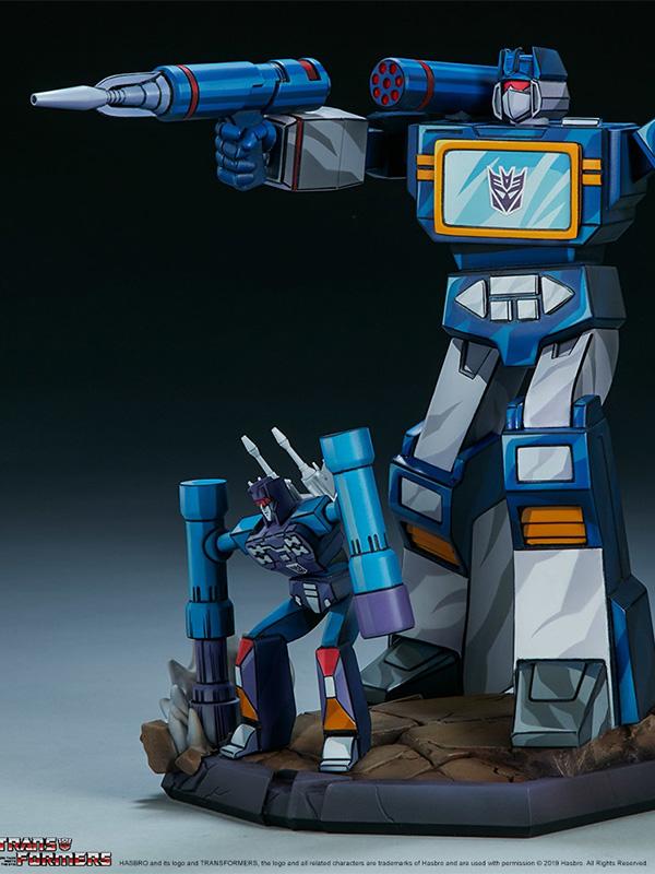 Pop Culture Shock Transformers Soundwave Classic Statue