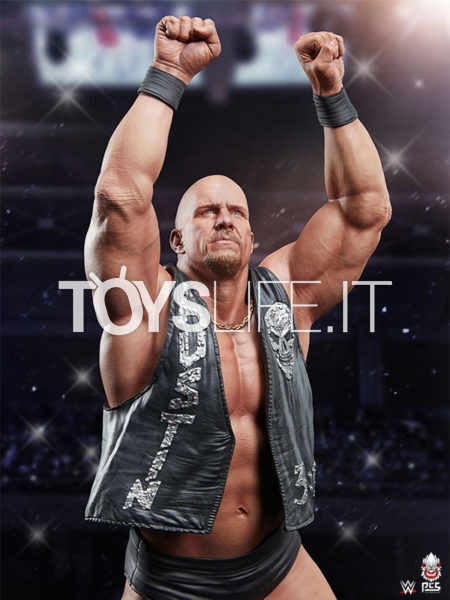 Pop Culture Shock WWE Stone Cold Steve Austin 1:4 Statue