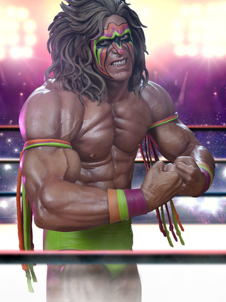 Pop Culture Shock WWE Ultimate Warrior 1:4 Statue