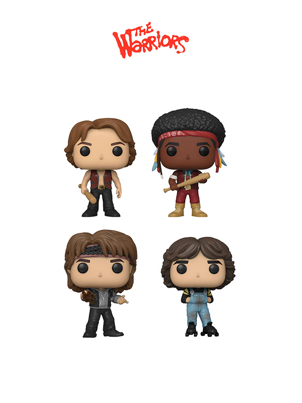 Funko Movies The Warriors Swan/Cochise/Luther/Rollerskate Gang Leader