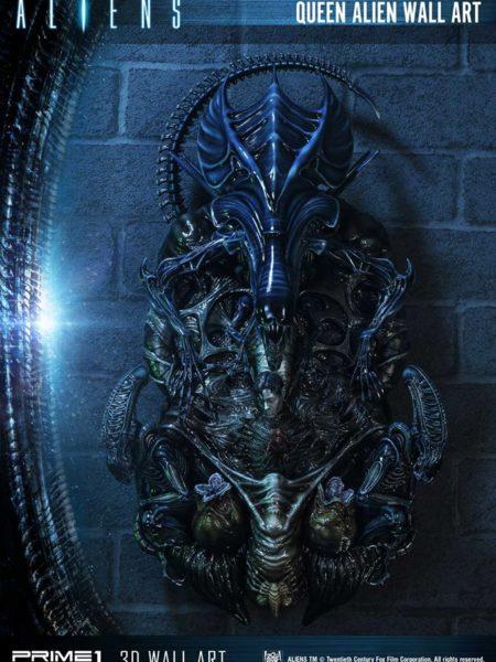 Prime 1 Studio Aliens Queen Alien Wall Art