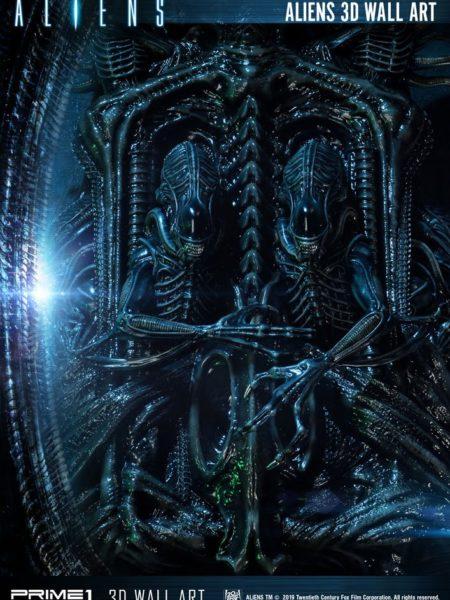 Prime 1 Studio Aliens 3D Wall Art