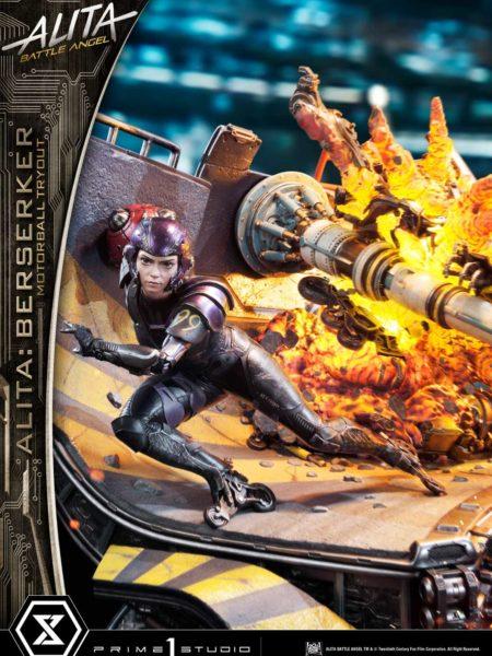 Prime 1 Studio Alita Battle Angel Alita Berserker Motorball Tryout Bonus Version 1:4 Diorama