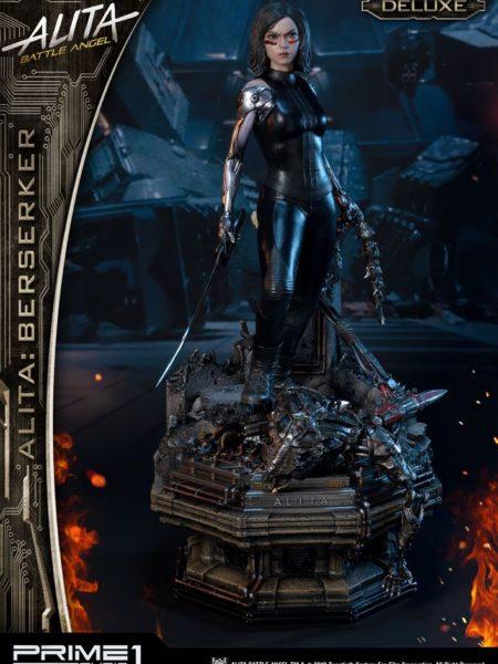 Prime 1 Studio Alita Battle Angel  Alita Berserker Deluxe 1:4 Statue