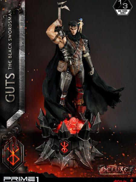 Prime 1 Studio Berserk Guts The Black Swordsman 1:3 Deluxe Statue