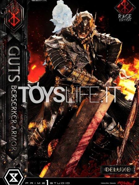 Prime 1 Studio Berserk Guts Berserker Armor Rage Edition Deluxe 1:4 Statue