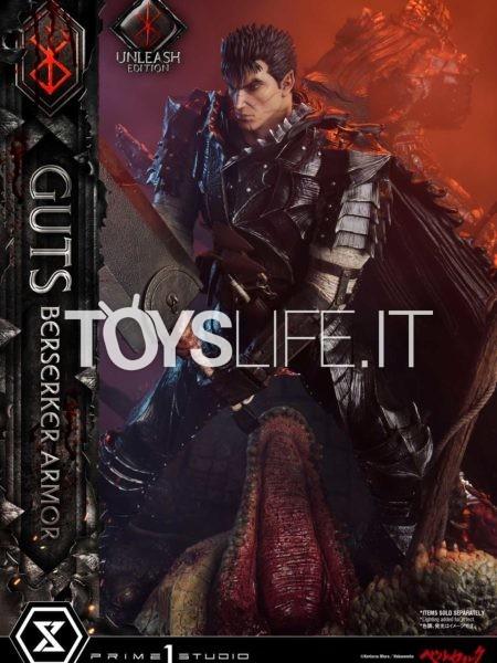 Prime 1 Studio Berserk Guts Berserker Armor Unleash Edition Deluxe 1:4 Statue