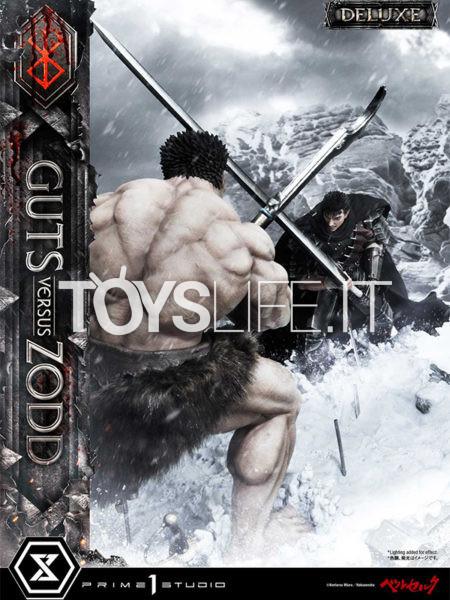 Prime 1 Studio Berserk Guts vs Zodd 1:6 Diorama Deluxe Version