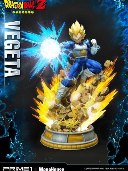 Prime 1 Studio Dragonball Z Super Saiyan Vegeta Deluxe 1:4 Statue