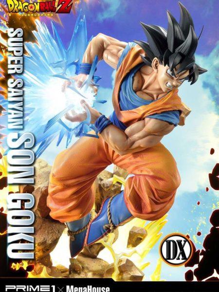 Prime 1 Studio Dragonball Z Super Saiyan Goku Deluxe 1:4 Statue