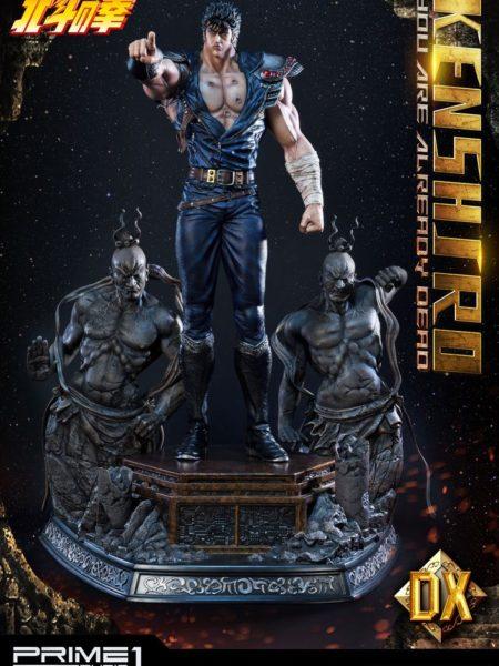 Prime 1 Studio Fist of the North Star Statue Kenshiro You're Already Dead 1:4 Deluxe Statue