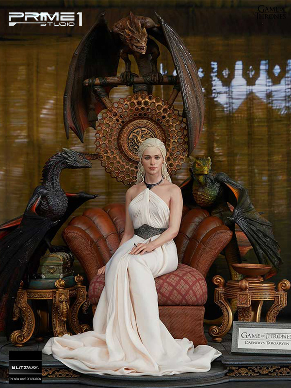 Prime 1 Studio/Blitzway Game of Thrones Daenerys Targaryen Mother of Dragons 1:4 Statue