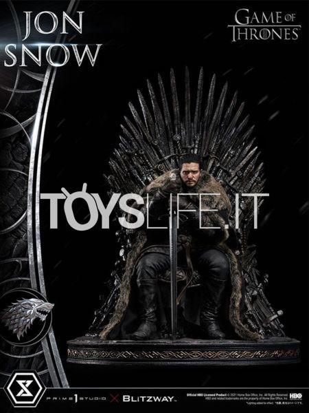 Prime 1 Studio/ Blitzway Game of Thrones Jon Snow 1:4 Statue